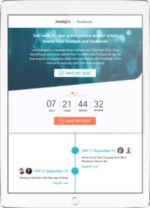 Enterprise email design example