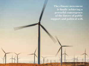 NRDC Annual Report Design includes imagery and quotes that contribute to their narrative