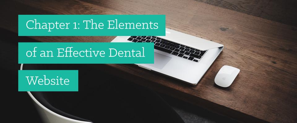 dental website design header