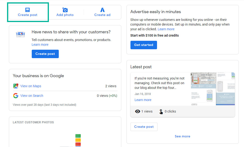 How to use Google Posts for local SEO